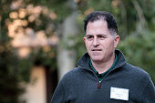 Michael Dell chief executive officer of Dell Inc attends the annual Allen Company Sun Valley Conference July 6 2016 in Sun Valley Idaho Every July...