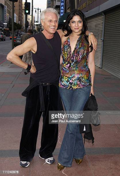 Michael Des Barres Jodi Lyn O'Keefe during The 12th Annual Music Video Production Association Awards at Orpheum Theatre in Los Angeles California...