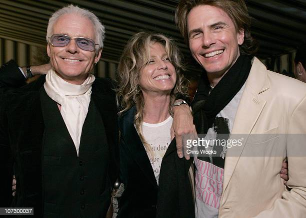 Michael Des Barres Tracey Ross and John Taylor of Duran Duran