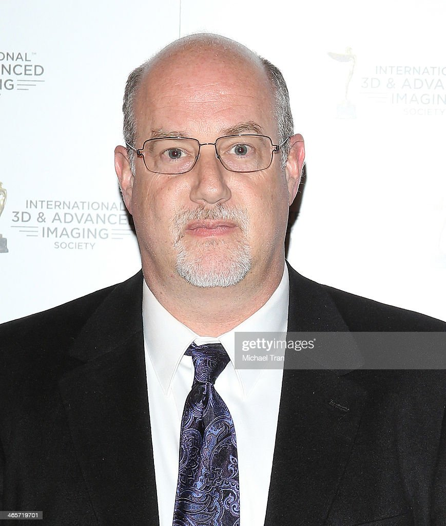 Michael DeValue arrives at the 2014 International 3D and Advanced Imaging Society's Creative Arts Awards held at Steven J. Ross Theatre on January 28, 2014 in Burbank, California.