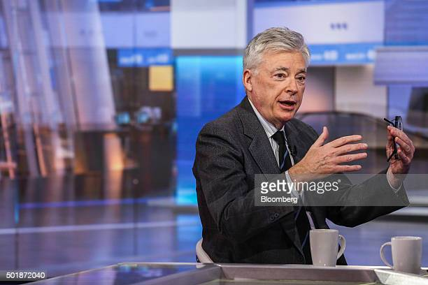Michael Dolan former chief executive officer of IMG Worldwide Inc speaks during a Bloomberg Television interview in New York US on Friday Dec 18 2015...