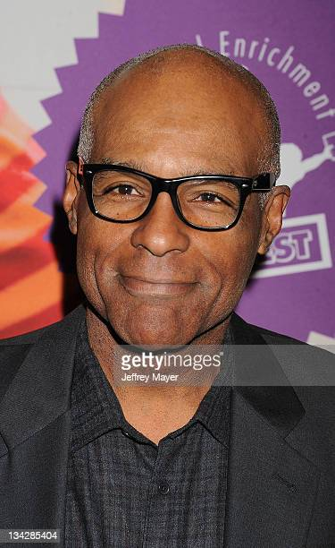 Michael Dorn arrives at the 'A Snow White Christmas' Opening Night Gala at El Portal Theatre on November 29 2011 in North Hollywood California