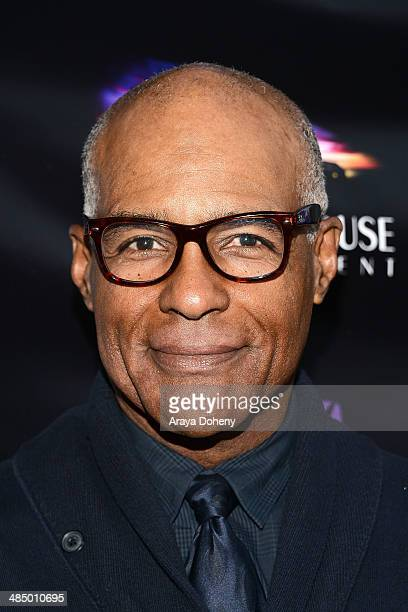 Michael Dorn attends the Prospect Entertainment with Glendale Arts presents The Malcom McDowell series and QA screening of 'Star Trek Generations' at...