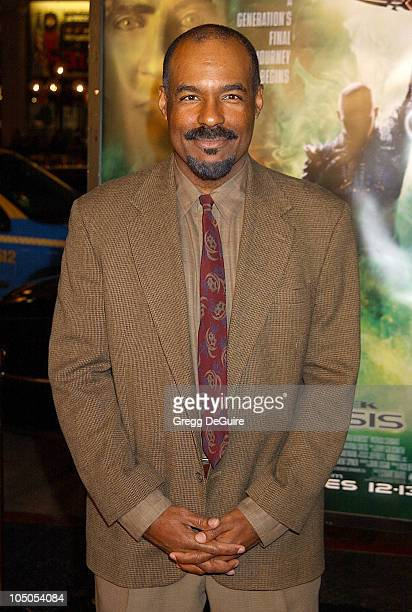 Michael Dorn during 'Star Trek Nemesis' World Premiere at Grauman's Chinese Theatre in Hollywood California United States