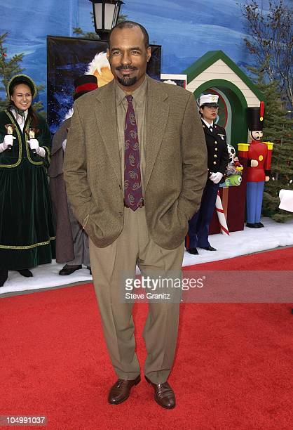 Michael Dorn during 'The Santa Clause 2' Premiere at El Capitan Theatre in Hollywood California United States