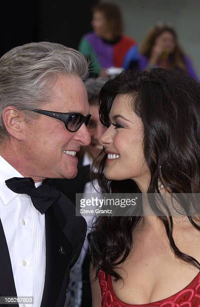 Michael Douglas and Catherine ZetaJones during The 76th Annual Academy Awards Arrivals at The Kodak Theater in Hollywood California United States
