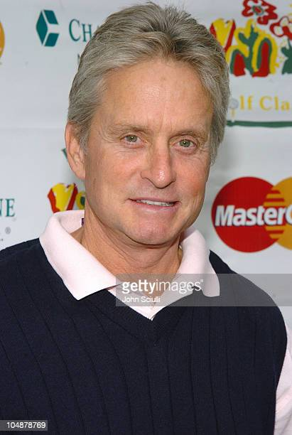 Michael Douglas at the 6th Annual Golf Classic benefiting the Elizabeth Glaser Pediatric AIDS Foundation