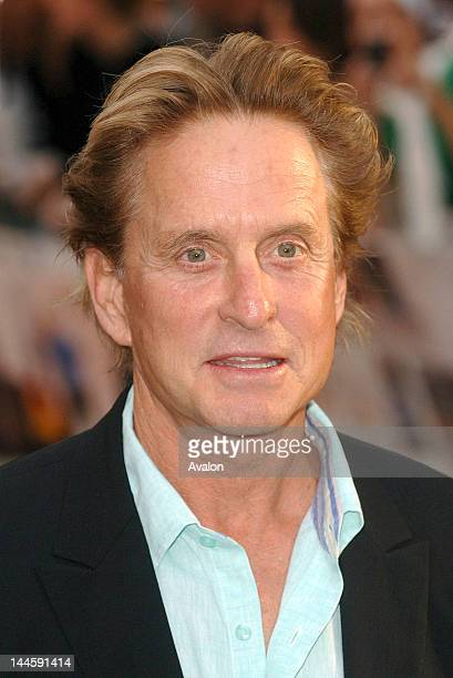 Michael Douglas attending You Me and Dupree UK film premiere Odeon Leicester Square London August 22nd 2006 Job 14911