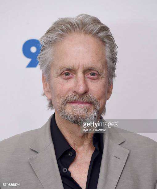 Michael Douglas attends 92nd Street Y Presents Sherry Lansing In Conversation With Michael Douglas Stephen Galloway at 92nd Street Y on April 28 2017...