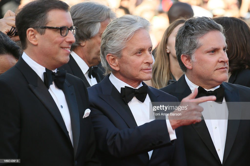 Michael Douglas attends 'Behind The Candelabra' Premiere during The 66th Annual Cannes Film Festival on May 21, 2013 in Cannes, France.
