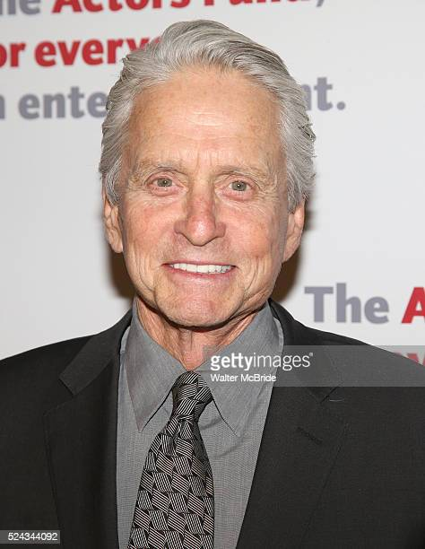 Michael Douglas attends The Actors Fund 2016 Gala at Marriott Marquis Times Square on April 25 2016 in New York City