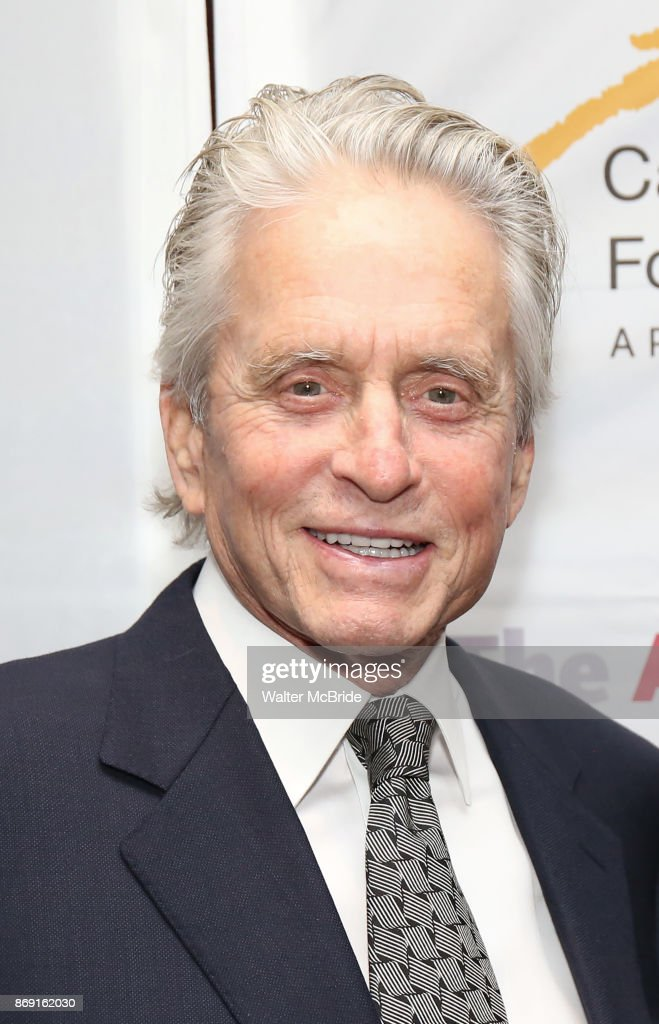 Michael Douglas attends the Actors Fund Career Transition For Dancers Gala on November 1, 2017 at The Marriott Marquis in New York City.