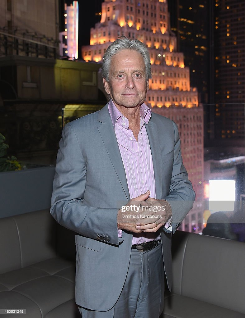 <a gi-track='captionPersonalityLinkClicked' href=/galleries/search?phrase=Michael+Douglas&family=editorial&specificpeople=171111 ng-click='$event.stopPropagation()'>Michael Douglas</a> attends the after party for Marvel's screening of 'Ant-Man' hosted by The Cinema Society and Audi at St. Cloud at the Knickerbocker Hotel on July 13, 2015 in New York City.