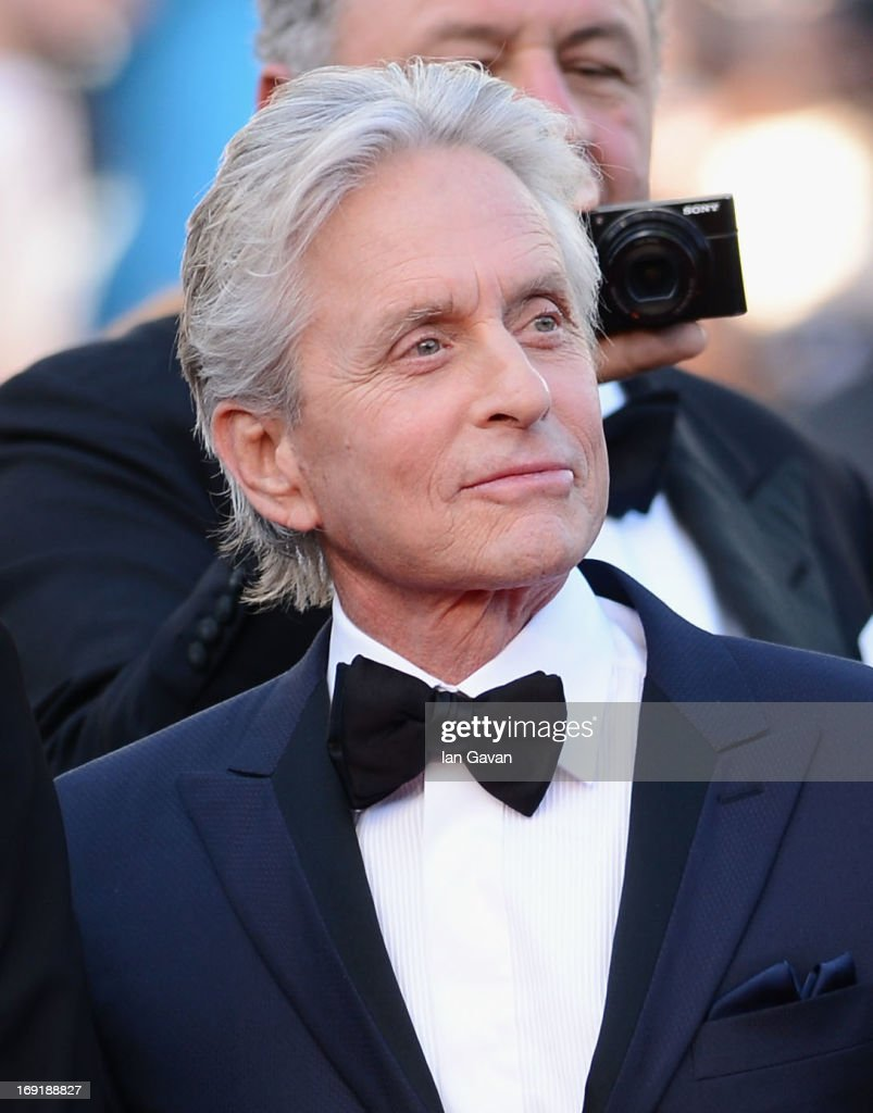<a gi-track='captionPersonalityLinkClicked' href=/galleries/search?phrase=Michael+Douglas&family=editorial&specificpeople=171111 ng-click='$event.stopPropagation()'>Michael Douglas</a> attends the 'Behind The Candelabra' Premiere during the 66th Annual Cannes Film Festival at Grand Theatre Lumiere on May 21, 2013 in Cannes, France.