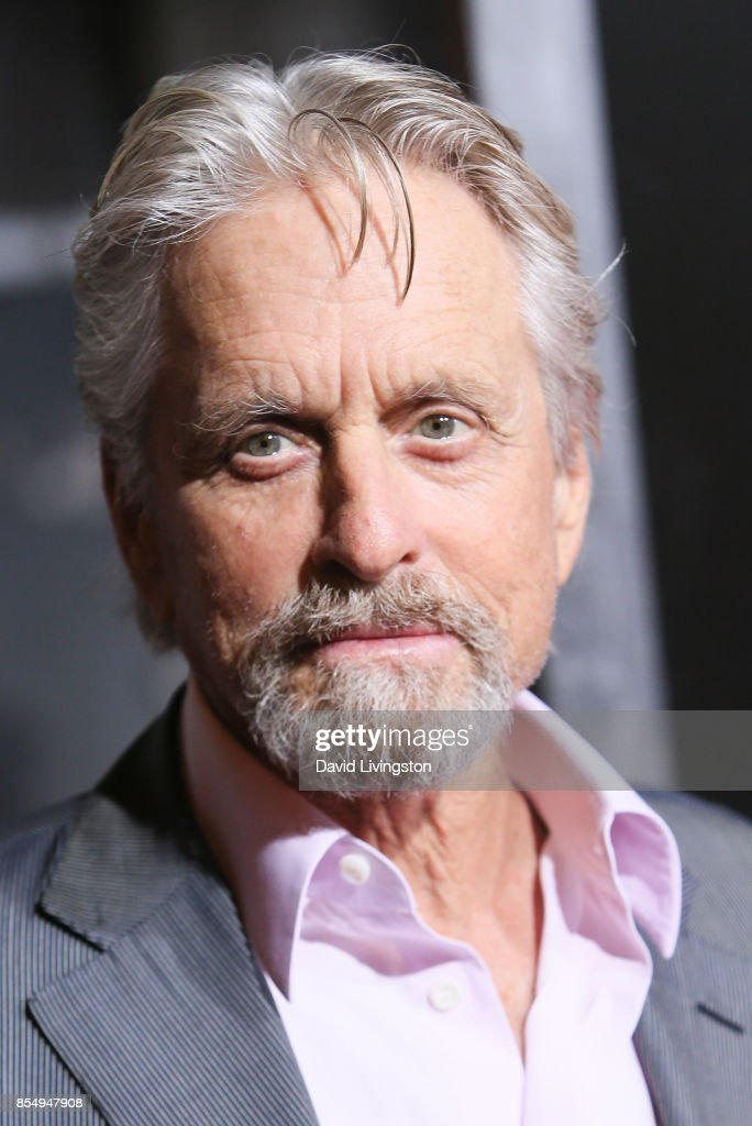 Michael Douglas attends the premiere of Columbia Pictures' 'Flatliners' at The Theatre at Ace Hotel on September 27, 2017 in Los Angeles, California.