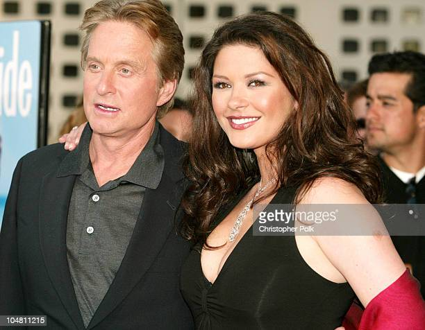Michael Douglas Catherine ZetaJones during Premiere of 'The InLaws' at Cinerama Dome in Hollywood California United States