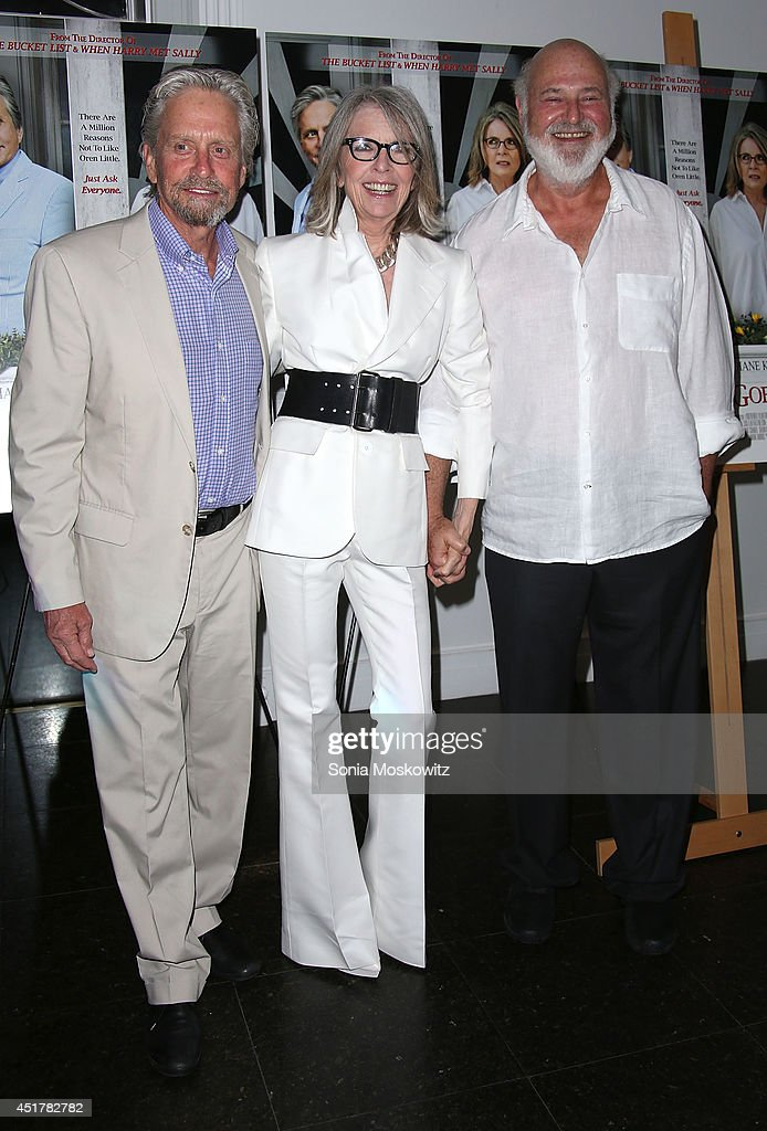 <a gi-track='captionPersonalityLinkClicked' href=/galleries/search?phrase=Michael+Douglas&family=editorial&specificpeople=171111 ng-click='$event.stopPropagation()'>Michael Douglas</a>, <a gi-track='captionPersonalityLinkClicked' href=/galleries/search?phrase=Diane+Keaton&family=editorial&specificpeople=201554 ng-click='$event.stopPropagation()'>Diane Keaton</a>, and <a gi-track='captionPersonalityLinkClicked' href=/galleries/search?phrase=Rob+Reiner&family=editorial&specificpeople=208749 ng-click='$event.stopPropagation()'>Rob Reiner</a> attend the 'And So It Goes' premiere at Guild Hall on July 6, 2014 in East Hampton, New York.
