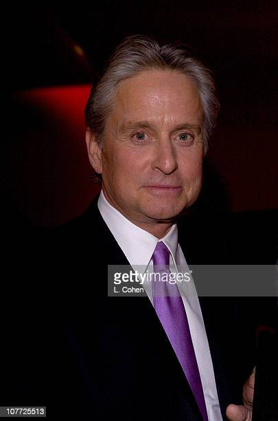 Michael Douglas during 10th Annual Screen Actors Guild Awards Backstage and Audience at Shrine Auditorium in Los Angeles California United States