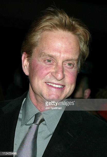 Michael Douglas during 'Chicago' Special Screening to Benefit GLAAD and Broadway Cares Outside Arrivals at The Ziegfeld Theater in New York City New...