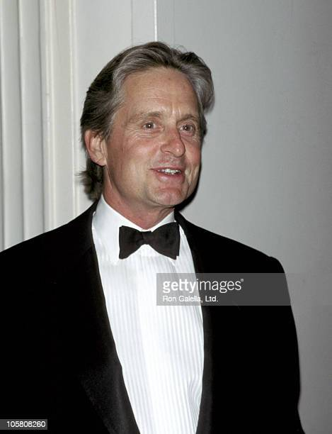 Michael Douglas during Juvenile Diabetes Foundation Honors Edgar Bronfman Jr at The Waldorf Astoria Hotel in New York City New York United States