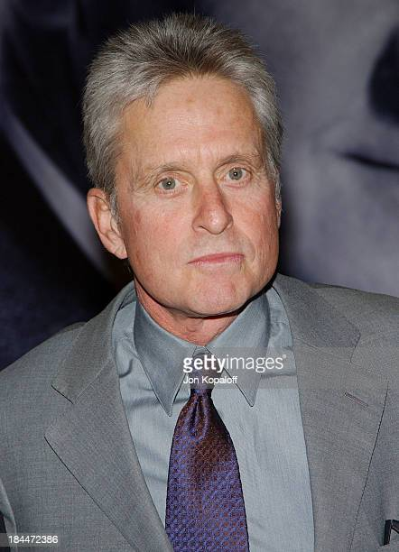 Michael Douglas during Karl Malden Honored with The 2004 Monte Cristo Award at The Beverly Hills Hotel in Beverly Hills California United States