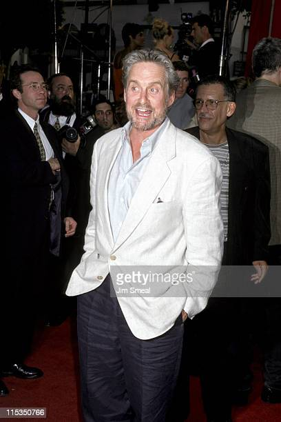 Michael Douglas during Los Angeles Premiere of 'Face Off' at Mann Chinese Theatre in Hollywood California United States