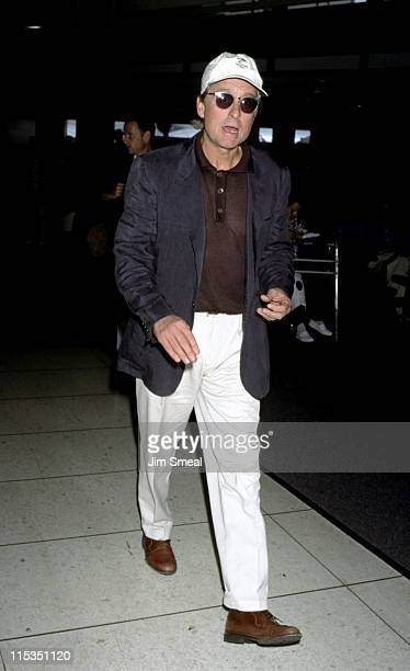 Michael Douglas during Michael Douglas Arriving from New York at Los Angeles International Airport May 15 1997 at Los Angeles International Airport...
