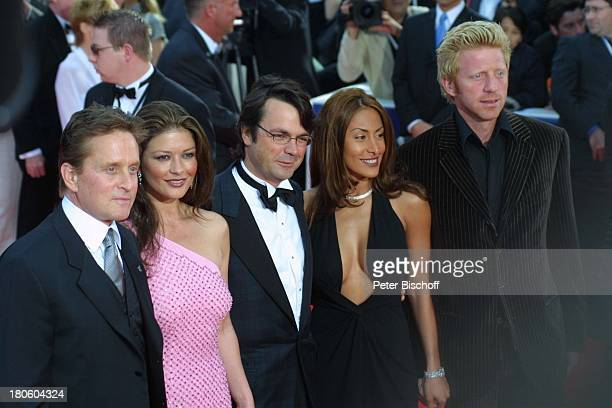 Michael Douglas Ehefrau Catherine ZetaJones Name auf Wunsch Patrice Farameh Lebensgefährte Boris Becker ZDFSpecial zur Verleihung des '3 Laureus...