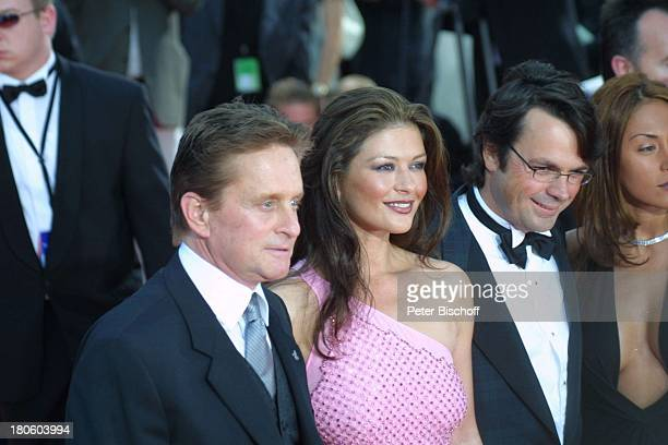 Michael Douglas Ehefrau Catherine ZetaJones Name auf Wunsch ZDFSpecial zur Verleihung des '3 Laureus World Sports Awards' Monaco/Monte Carlo...
