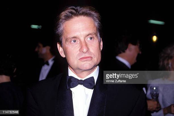 Michael Douglas in NYC 1995