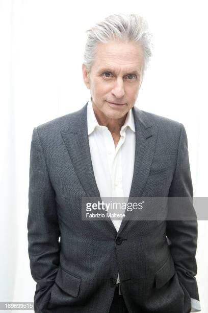 Michael Douglas is photographed for Self Assignment on May 20 2013 in Cannes France