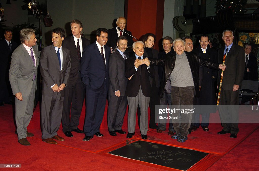 Michael Douglas Michael Lynton CEO of Sony Pictures Chris McGurk COO of MGM Peter Chernin COO of News Corporation Johnny Grant Barry Meyer CEO of...