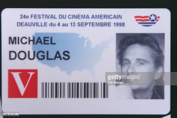 Michael Douglas's badge