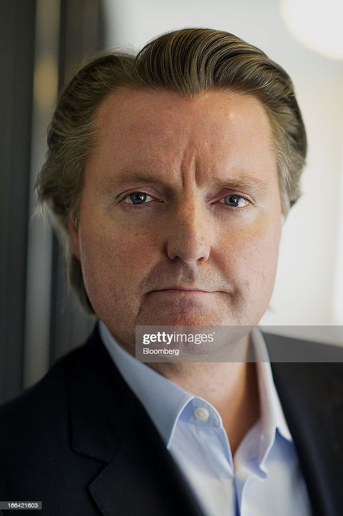 Michael Downing, chief executive officer of Tout.com, stands for a photograph after a Bloomberg West Television interview in San Francisco, California, U.S., on Thursday, April 11, 2013. Tout is a real-time information network for up-to-the-minute video updates across news, sports, politics, entertainment. Photographer: David Paul Morris/Bloomberg via Getty Images