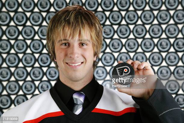Michael Dupont poses for a portrait backstage at the 2006 NHL Draft held at General Motors Place on June 24 2006 in Vancouver Canada