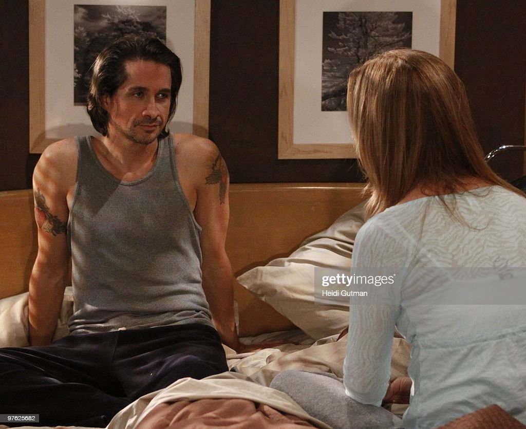 LIVE - Michael Easton (John) and Susan Haskell (Marty) in a scene that airs the week of March 1, 2010 on ABC Daytime's 'One Life to Live.' 'One Life to Live' airs Monday-Friday (2:00 p.m. - 3:00 p.m., ET) on the ABC Television Network. OLTL10 (Photo by Heidi Gutman/ABC via Getty Images) MICHAEL
