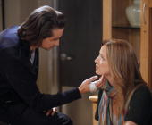 LIVE Michael Easton and Susan Haskell in a scene that airs the week of February 15 2010 on ABC Daytime's 'One Life to Live' 'One Life to Live' airs...