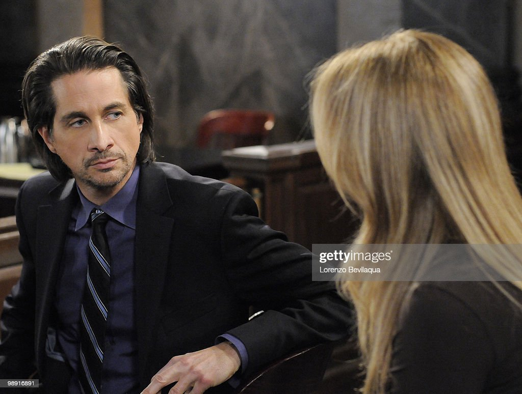 LIVE - Michael Easton (John) and Susan Haskell (Marty) in a scene that airs the week of May 3, 2010 on ABC Daytime's 'One Life to Live.' 'One Life to Live' airs Monday-Friday (2:00 p.m. - 3:00 p.m., ET) on the ABC Television Network. OLTL10 (Photo by Lorenzo Bevilaqua/ABC via Getty Images) MICHAEL