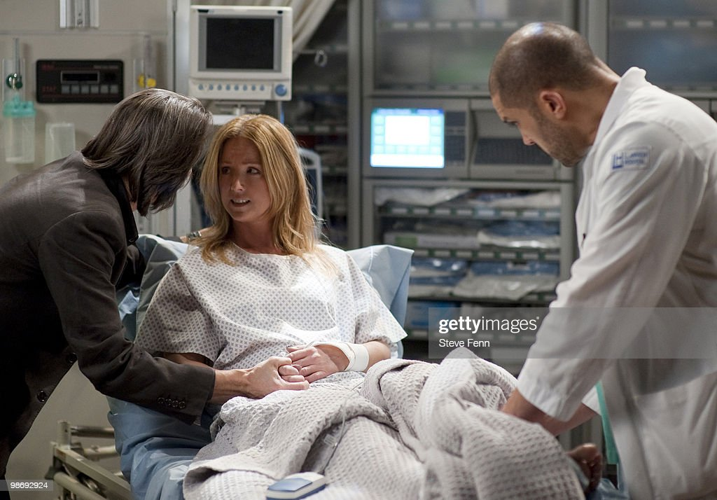 LIVE - Michael Easton (John), Susan Haskell (Marty) and Terrell Tilford (Greg) in a scene that airs the week of April 19, 2010 on ABC Daytime's 'One Life to Live.' 'One Life to Live' airs Monday-Friday (2:00 p.m. - 3:00 p.m., ET) on the ABC Television Network. OLTL10 (Photo by Steve Fenn/ABC via Getty Images) MICHAEL