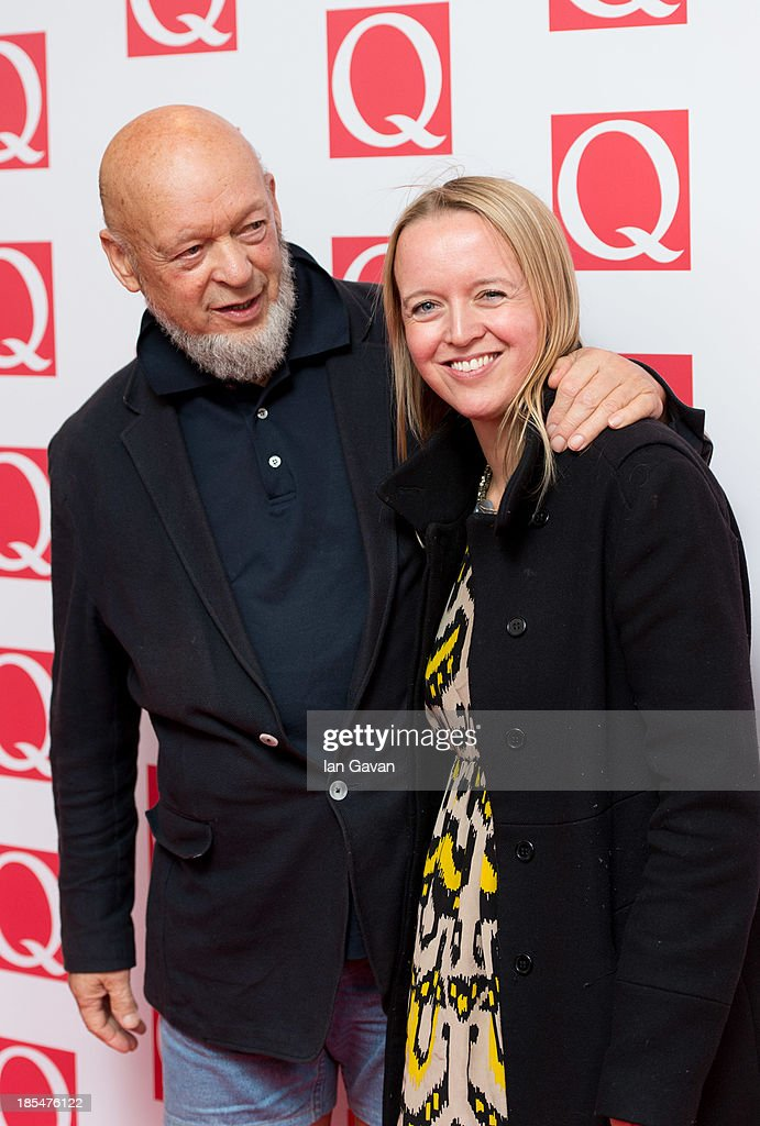 <a gi-track='captionPersonalityLinkClicked' href=/galleries/search?phrase=Michael+Eavis&family=editorial&specificpeople=218076 ng-click='$event.stopPropagation()'>Michael Eavis</a> and Emily Eavis attend The Q Awards at The Grosvenor House Hotel on October 21, 2013 in London, England.