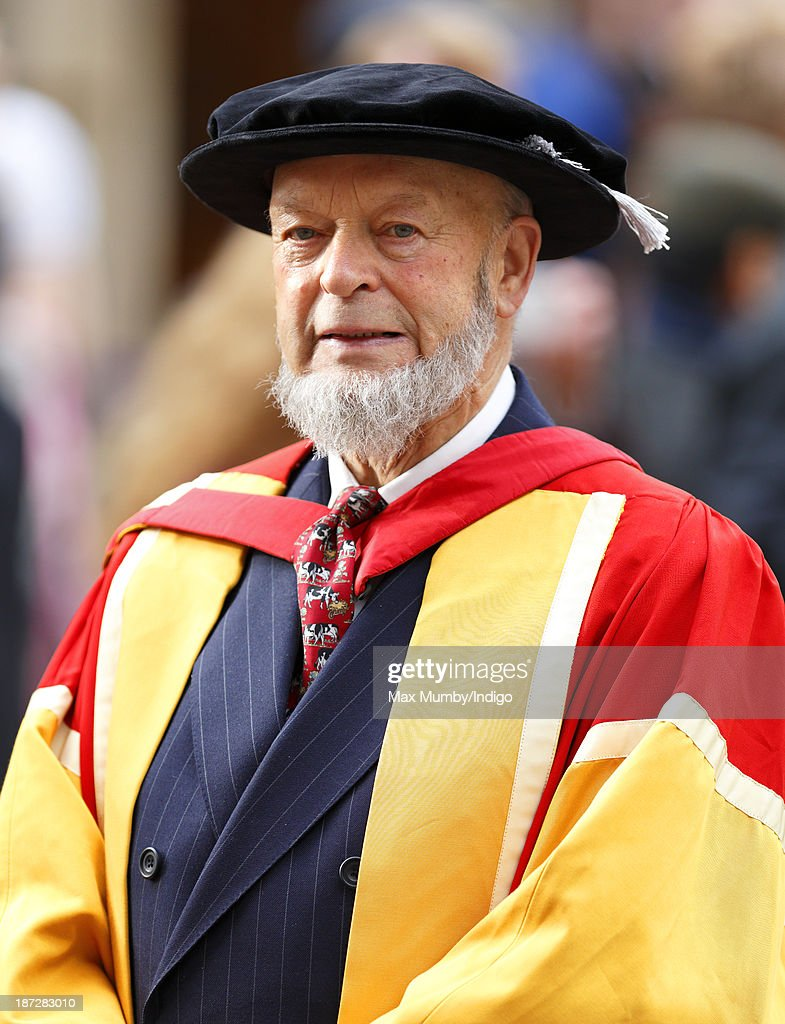 <a gi-track='captionPersonalityLinkClicked' href=/galleries/search?phrase=Michael+Eavis&family=editorial&specificpeople=218076 ng-click='$event.stopPropagation()'>Michael Eavis</a> attends a service at Bath Abbey to install Prince Edward, Earl of Wessex as Chancellor of the University of Bath on November 7, 2013 in Bath, England.