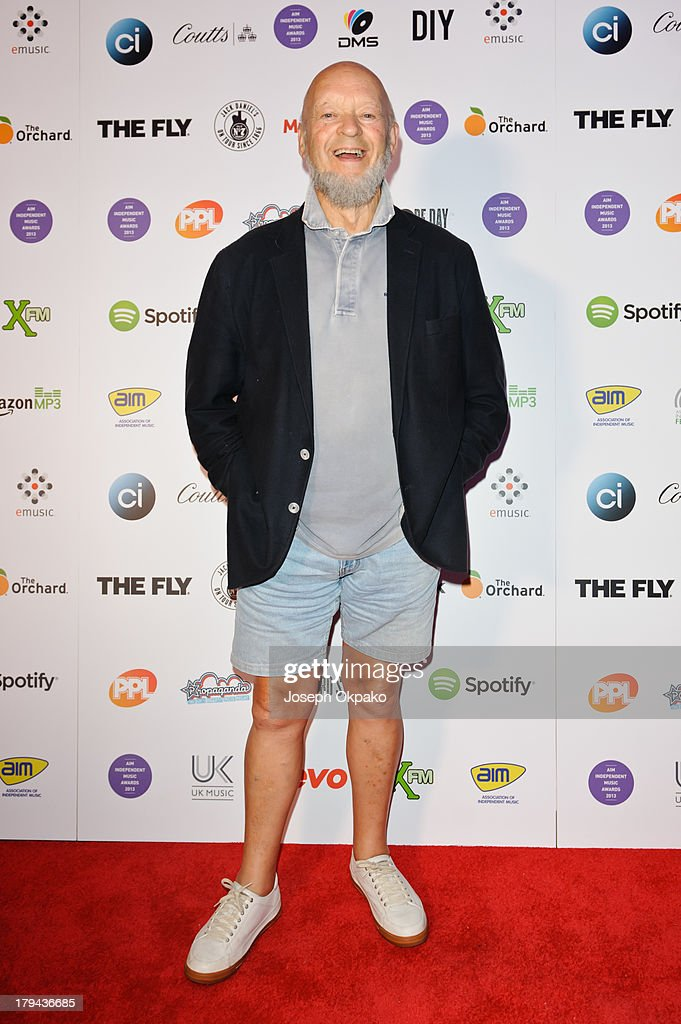 Michael Eavis founder of Glastonbury Festival attends the AIM Independent Music Awards at The Brewery on September 3, 2013 in London, England.