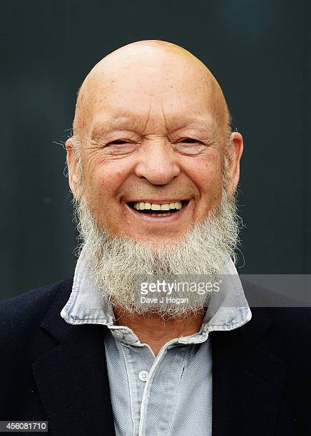 Michael Eavis Glastonbury Festival Creator and recipient of the 2014 Music Industry Trusts Award visits students at the BRIT School one of the two...