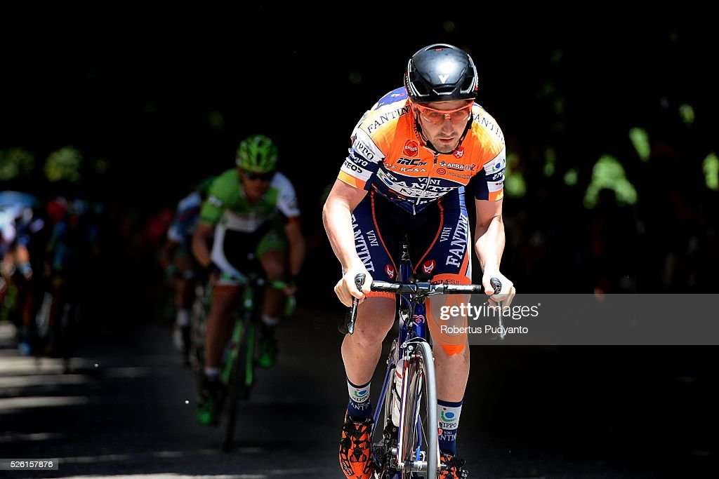 Michael Eduard Grosu of Nippo-Vini Fantini competes during Stage 6 of the 2016 Tour of Turkey, Kumluca to Elmali (117 km) on April 24, 2016 in Kumluca, Turkey.
