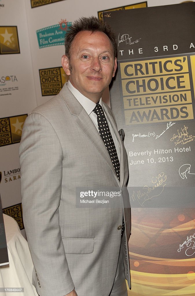 Michael Emerson attends Critics' Choice Television Awards VIP Lounge on June 10, 2013 in Los Angeles, California.