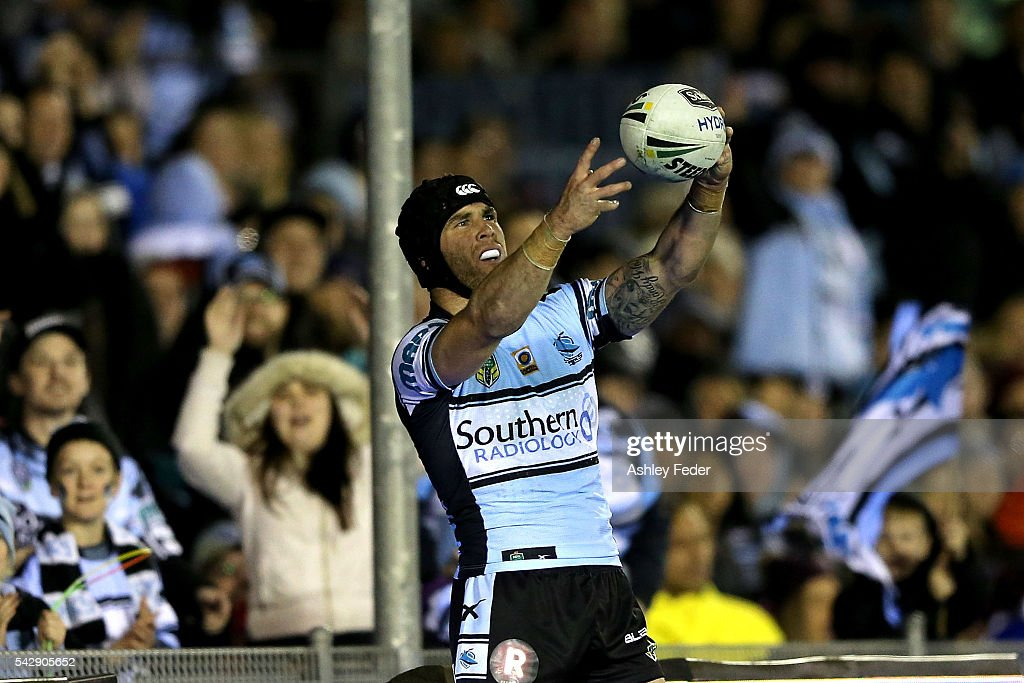 NRL Rd 16 - Sharks v Warriors