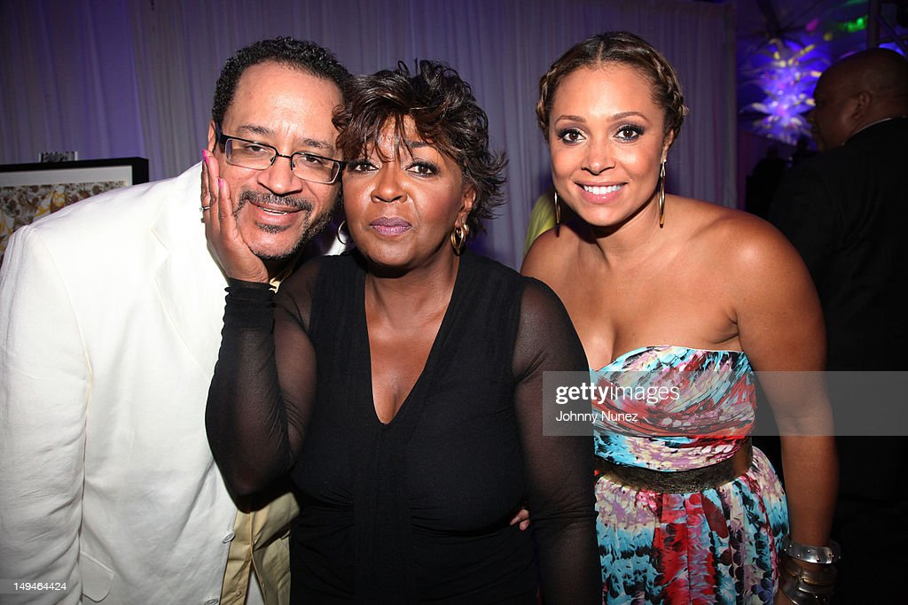 Michael Eric Dyson, <a gi-track='captionPersonalityLinkClicked' href=/galleries/search?phrase=Anita+Baker&family=editorial&specificpeople=221318 ng-click='$event.stopPropagation()'>Anita Baker</a> and <a gi-track='captionPersonalityLinkClicked' href=/galleries/search?phrase=Tamia&family=editorial&specificpeople=216487 ng-click='$event.stopPropagation()'>Tamia</a> Hill attend the 13th Annual Russel Simmons Rush philanthropic ART FOR LIFE on July 28, 2012 in East Hampton, New York.