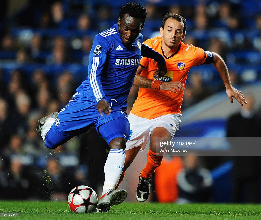 Chelsea v APOEL UEFA Champions League s and