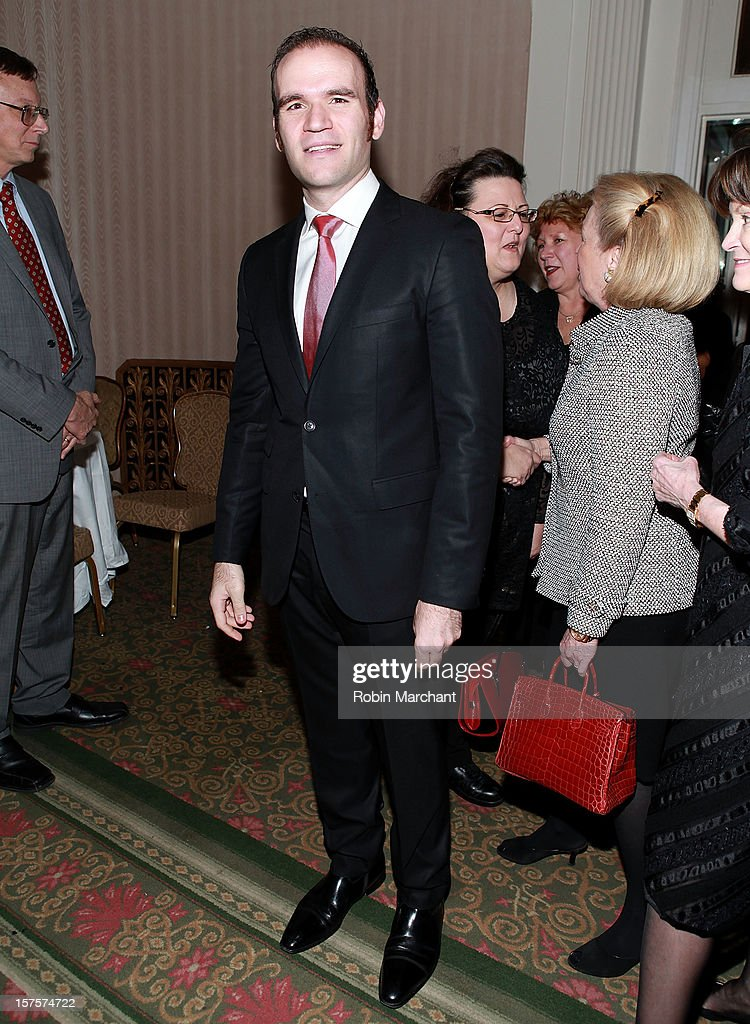 Michael Fabiano attends the Metropolitan Opera Guild's 78th Annual Luncheon Celebrating 'Star Power!' at The Waldorf=Astoria on December 4, 2012 in New York City.