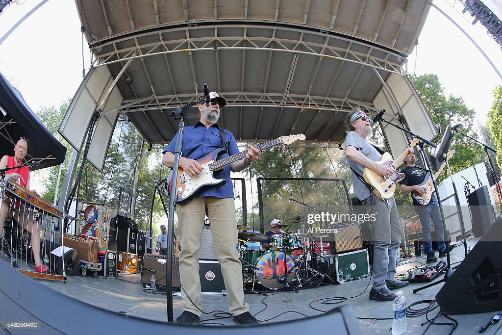 Michael Falzarano and the New Riders of the Purple Sage perform at Day Two of the Rockland-Bergen Music Festival at German Masonic Park on June 25, 2016 in Tappan, New York.